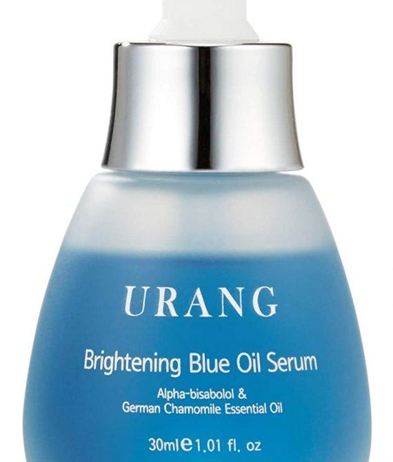 URANG Brightening Blue Oil Serum Aufhellende Pflege – Feuchtigkeitspendend, Ausgleichend, Beruhigend – Koreanische Premium Kosmetik EWG-Zertifiziert – 30ml